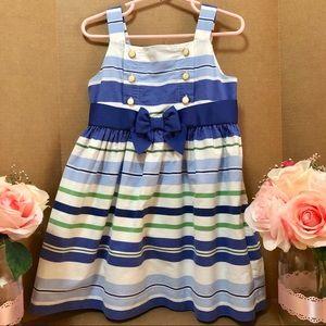 ⬇️$69 Janie and Jack Stripe Dress 2T